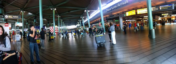 Finally landed in Amsterdam - Amsterdam Airport Schiphol