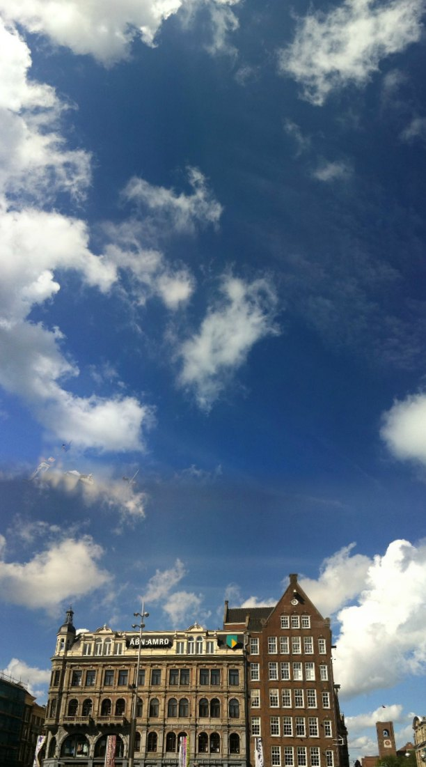 Panoramic view of the skies.