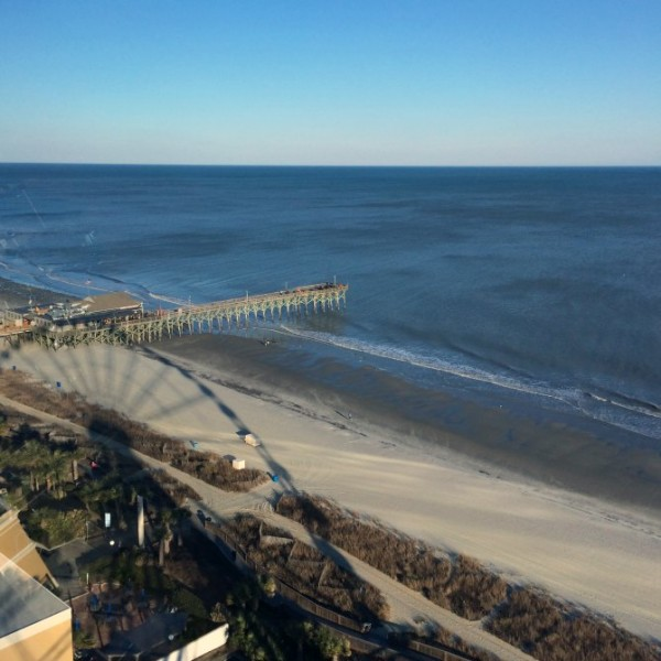 View of the Pier from the SkyWheel